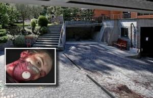 Federico Leonelli, c'è il video: prima coltellate a stendino poi macello Oksana