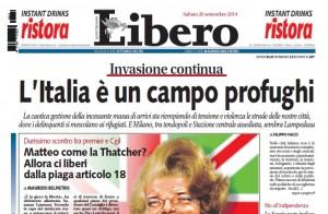 L'Italia è un campo profughi