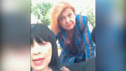Vanna Marchi e Stefania Nobile, davanti San Vittore