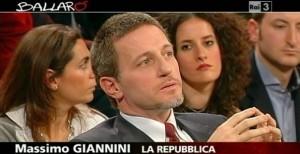 """M5S contro Massimo Giannini a Ballarò. Roberto Fico: """"In Rai non c'era nessuno?"""""""
