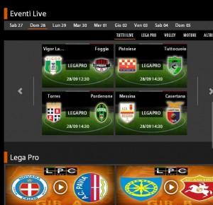 Messina-Casertana in diretta streaming su Sportube.tv: ecco come vederla
