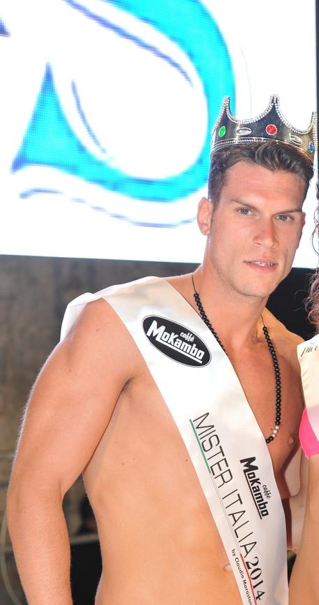 Giacomo Fariello Mister Italia 2014: ha 23 anni ed è di Napoli FOTO