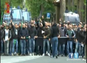 Genny a' carogna, VIDEO degli scontri a Roma prima di Napoli-Fiorentina