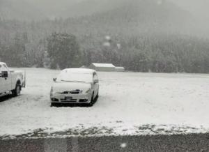 Cade la neve in Sud Dakota: a settembre, non accadeva dal 1888 VIDEO