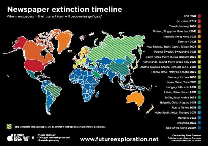 """Gianroberto Casaleggio, la profezia: """"I giornali in Italia spariranno nel 2027"""""""