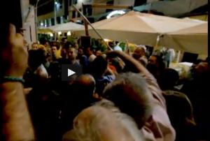 No Tav da una parte, militanti Pd dall'altra: spintoni alla Festa dell'Unità di Genova
