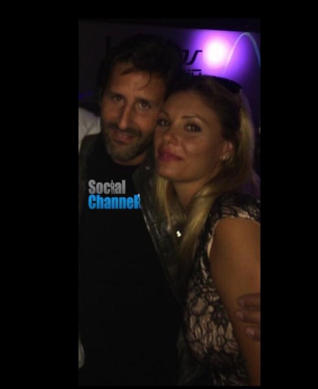 Tamara Pisnoli, ex di De Rossi, è il nuovo amore di Arnaud Mimran