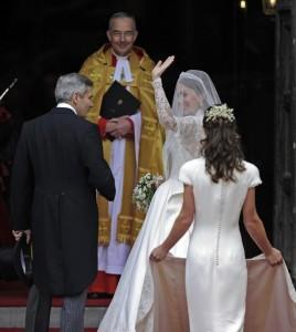 Pippa Middleton, la caduta del lato B. Al matrimonio c'era il trucco?