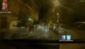 Roma, ruba un'auto a viale Libia: il filmato dell'inseguimento