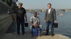 Pras Michel, rapper ex Fugees fa l'Ice Bucket Challenge in Corea del Nord