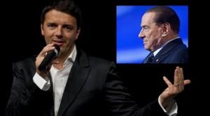 Berlusconi sostiene Matteo Renzi. Sondaggio: se elezioni FI al 15%