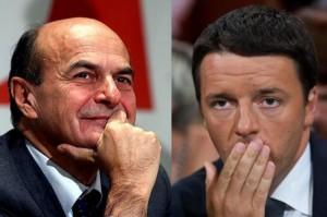 """Bersani contro Renzi: """"Ha preso il 40% ma sta governando col mio 25%. Mi rispetti"""""""