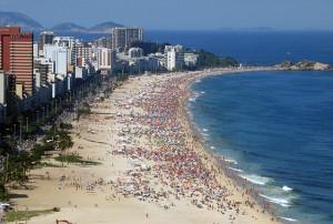 Brasile: 38 gradi a Rio, 32 a San Paolo. E' il giorno più caldo dell'inverno 2014