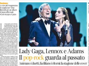 Lady Gaga, Annie Lennox, Bryan Adams... il pop-rock su butta sulle cover