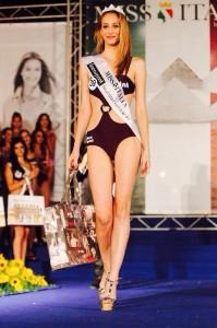 Rosaria Aprea picchiata dall'ex è tra le finaliste di Miss Italia
