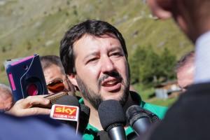 """Matteo Salvini in Scozia per il referendum: """"Qui, a scuola di democrazia"""""""