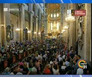Miracolo San Gennaro a Napoli: diretta su Canale 21 (VIDEO)