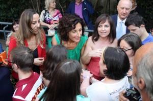 """Agnese Landini, lady Renzi: """"Sulla riforma della scuola ci siamo confrontati"""""""
