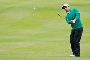 Fabrizio Zanotti colpito da pallina alla testa: paura al KLMOpen di golf