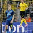 Ciro Immobile, video gol in Borussia Dortmund-Arsenal 2-0 16