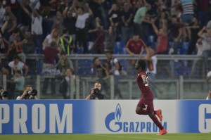 Video gol e pagelle, Roma-Cska Mosca 5-1: Gervinho da Champions League
