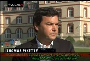 Ballarò di Giannini: l'intervista a Thomas Piketty VIDEO