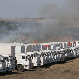 Ucraina: nuovo convoglio russo di aiuti formato da 200 camion passa il confine
