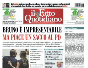"""Marco Travaglio sul Fatto Quotidiano: """"A caval Donato"""""""