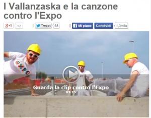 Beppe Grillo usa canzone di Renato Vallanzasca contro l'Expo