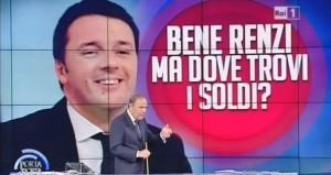 Renzi e Vespa a piedi al Santuario: nessuno vince la scommessa sui debiti Pa
