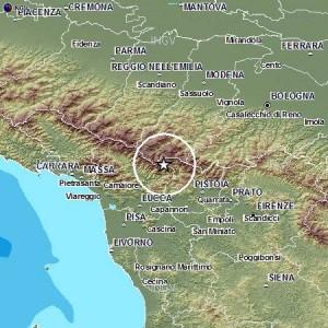Terremoto Garfagnana, scossa di magnitudo 4. Epicentro Fiumalbo (Modena)