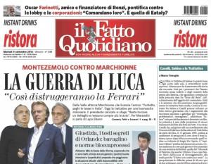 """Marco Travaglio sul Fatto Quotidiano: """"Caselli, Sabina e la Trattativa"""""""