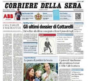 Casa tassati e maltrattati massimo fracaro e nicola for Corriere della sera casa