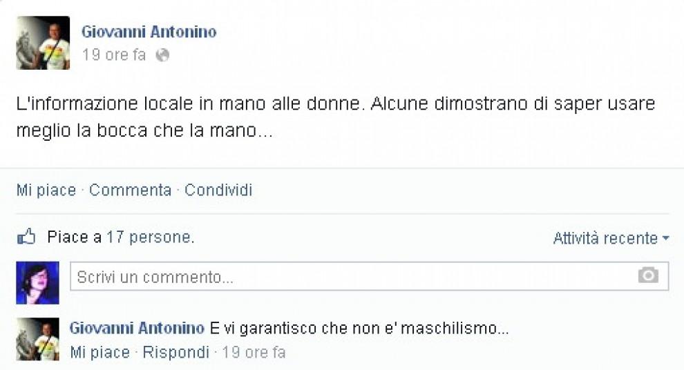 Il post dell''ex sindaco di Brindisi
