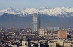 Grattacielo Intesa Sanpaolo (foto Ansa)