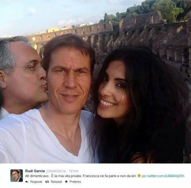 Lotito ovunque, anche con Garcia e Francesca Brienza al Colosseo FOTO