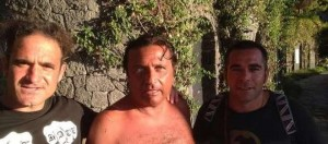 Francesco Schettino a Ischia (foto Facebook)