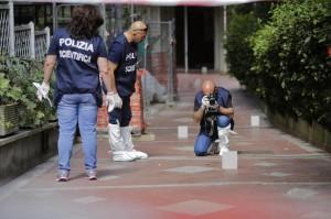 L'omicidio di Silvio Fanella (foto Lapresse)