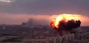 Caccia precipita in Libia, il VIDEO dello schianto a Tobruk