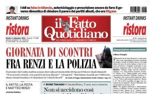 """Marco Travaglio sul Fatto Quotidiano: """"Annunciazione annunciazione!"""""""