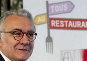 Alain Ducasse, svolta nel menù dello chef francesce: addio carne