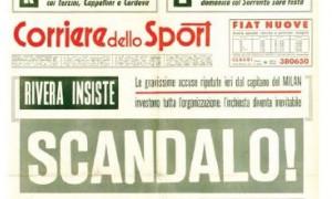 """""""Juve ci prende in giro, non vinceremo mai"""". Totti? No, Rivera nel 1972"""