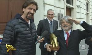 """Tapiro d'oro a Massimo Ferrero: """"Thohir? Non sapevo fosse indonesiano..."""""""