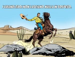 Tex nuova serie: con Repubblica sogni di un mondo dove il Bene vince sempre
