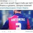 """Luca Antonini gol contro Allegri, la moglie Benedetta si gode la """"vendetta"""" 03"""