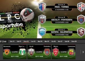 Ascoli-Pontedera: diretta streaming su Sportube.tv, ecco come vederla