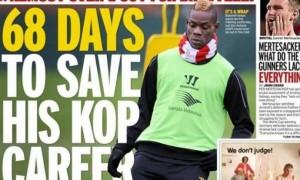 """Mario Balotelli, media inglesi: """"68 giorni per convincere il Liverpool"""""""