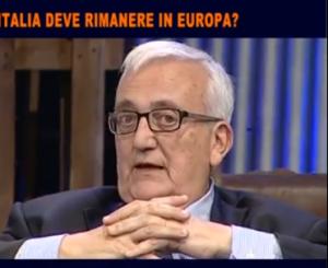 Mario Borghezio e Giorgio Albertini parlano in romanesco VIDEO