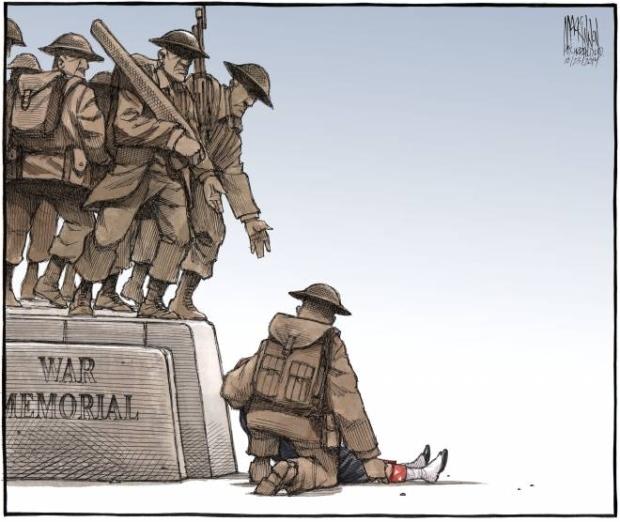 Nathan Cirillo, vignetta in omaggio al soldato morto ad Ottawa