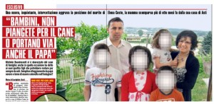 Elena Ceste, Michele Buoninconti e il mistero del cane scomparso